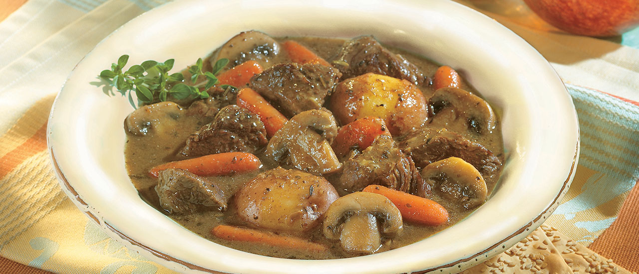 Herb-Simmered Beef Stew