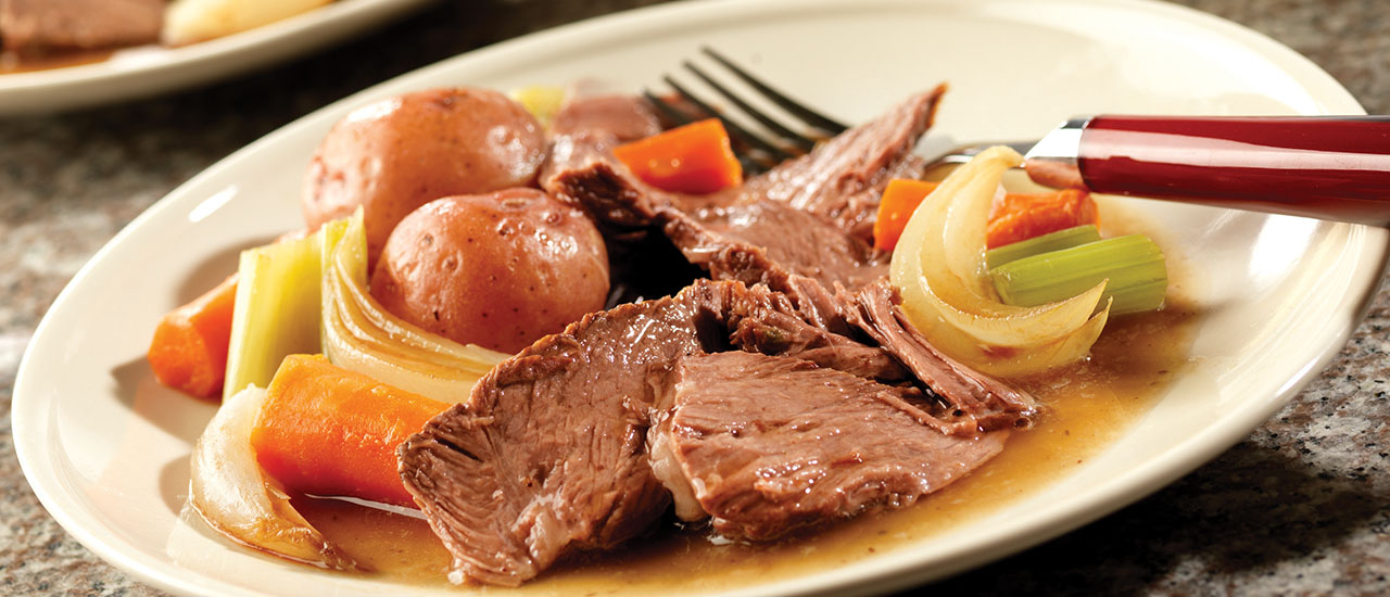 Slow Cooker Wonderful Pot Roast