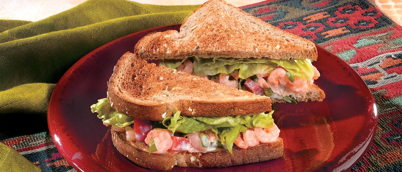 recipe: shrimp salad melt [26]