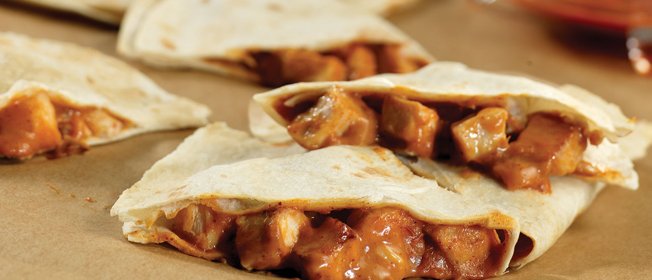 Quick & Easy Chicken Quesadillas