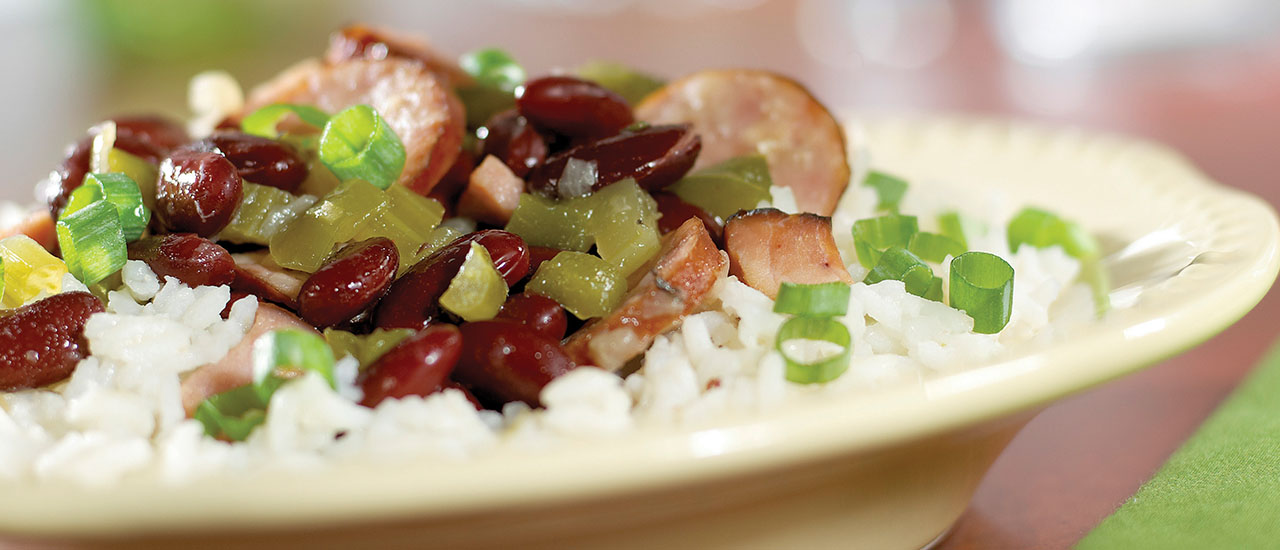 Hearty Red Beans& Rice