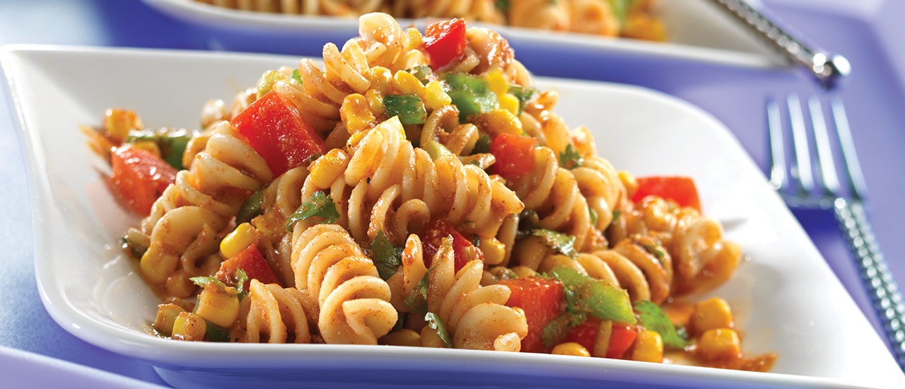 Southwestern-Style Picante Pasta Salad