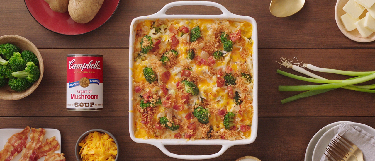 Bacon Hash Brown Casserole Campbell Soup Company