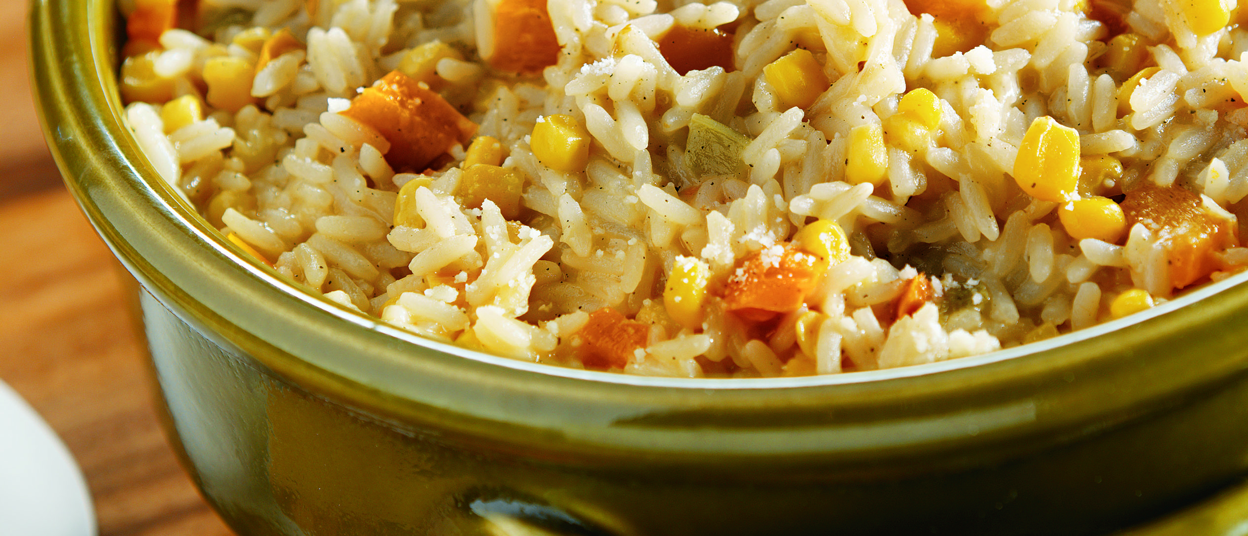Toasted Corn & Sage Harvest Risotto