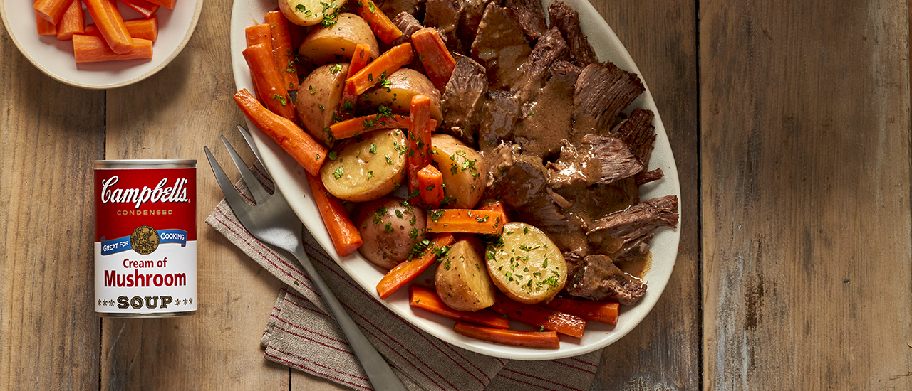 Easy Slow Cooker Savory Pot Roast