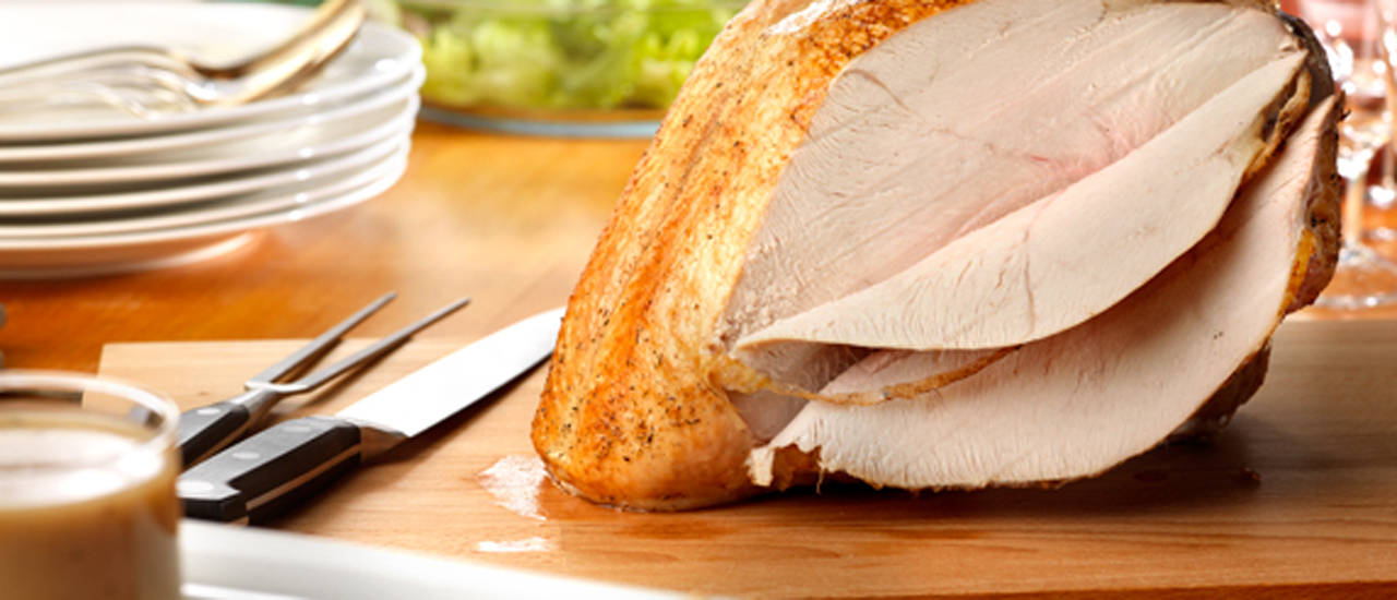 Roasted Turkey Breast with Herbed au Jus