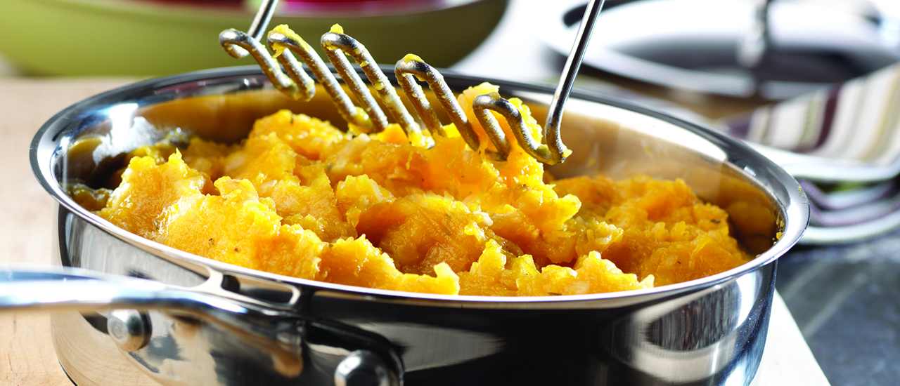 Pumpkin Apple Mash