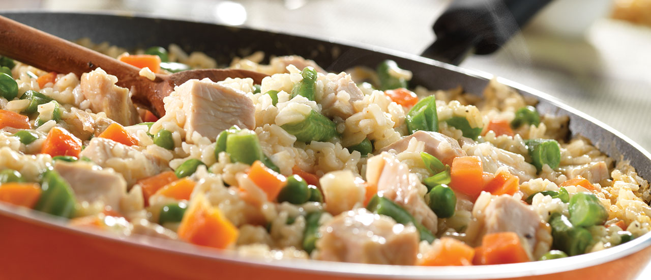 20-Minute Turkey & Rice