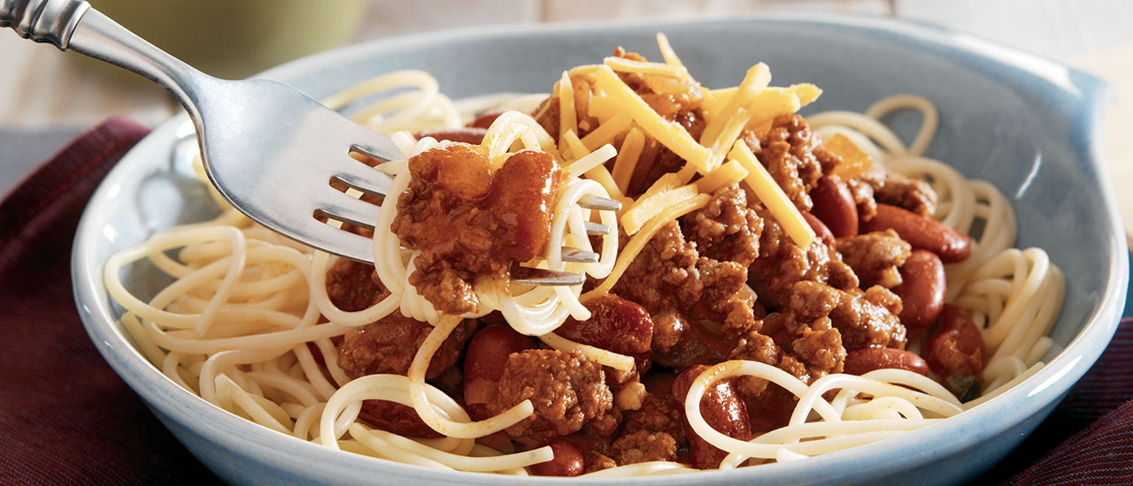 Cincinnati Chili and Pasta