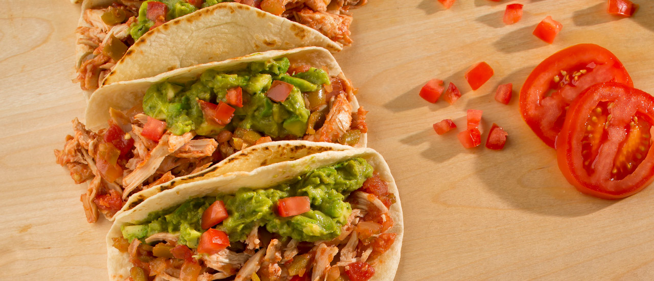 Shredded Chicken Soft Tacos Pace Foods