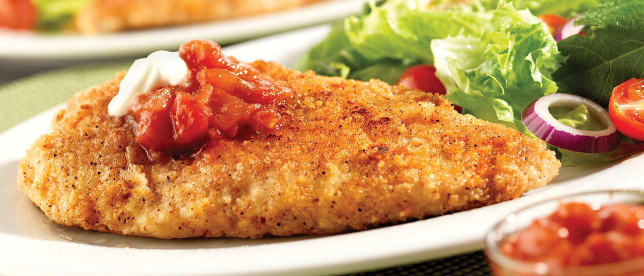 Zesty Crispy Chicken