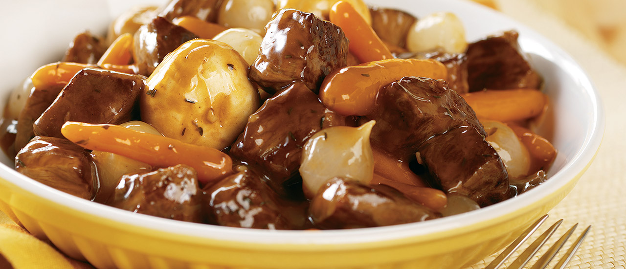 Slow Cooker Simple Beef Bourguignon