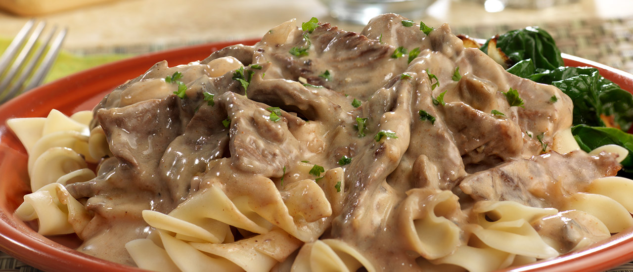 Beef Stroganoff Recipe | Campbell's Kitchen