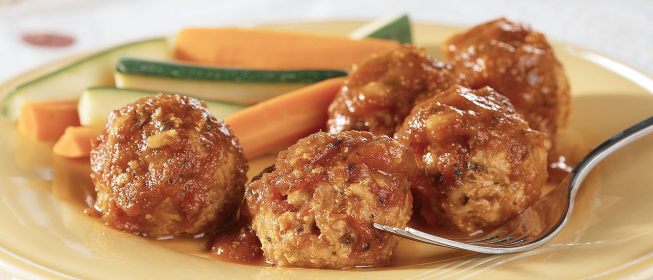 Turkey & Rice Meatballs