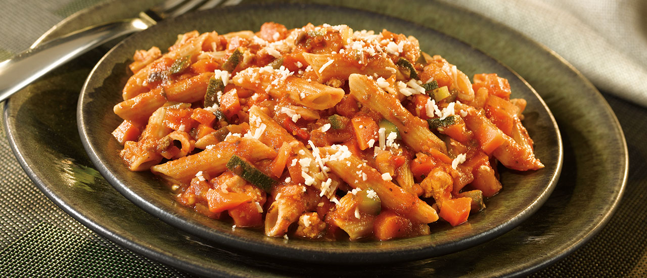 Turkey & Vegetable Bolognese