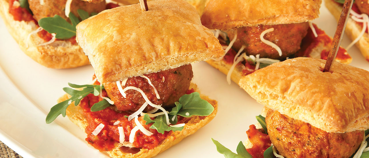 Meatball Mini Bites