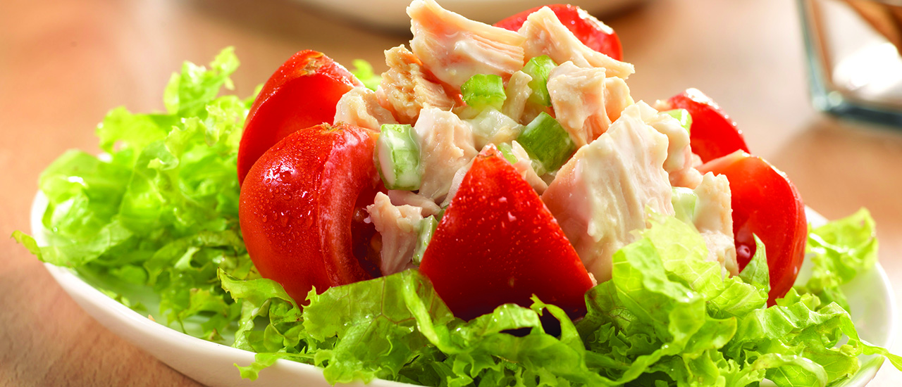 Heart Healthy Chicken Salad Stuffed Tomatoes
