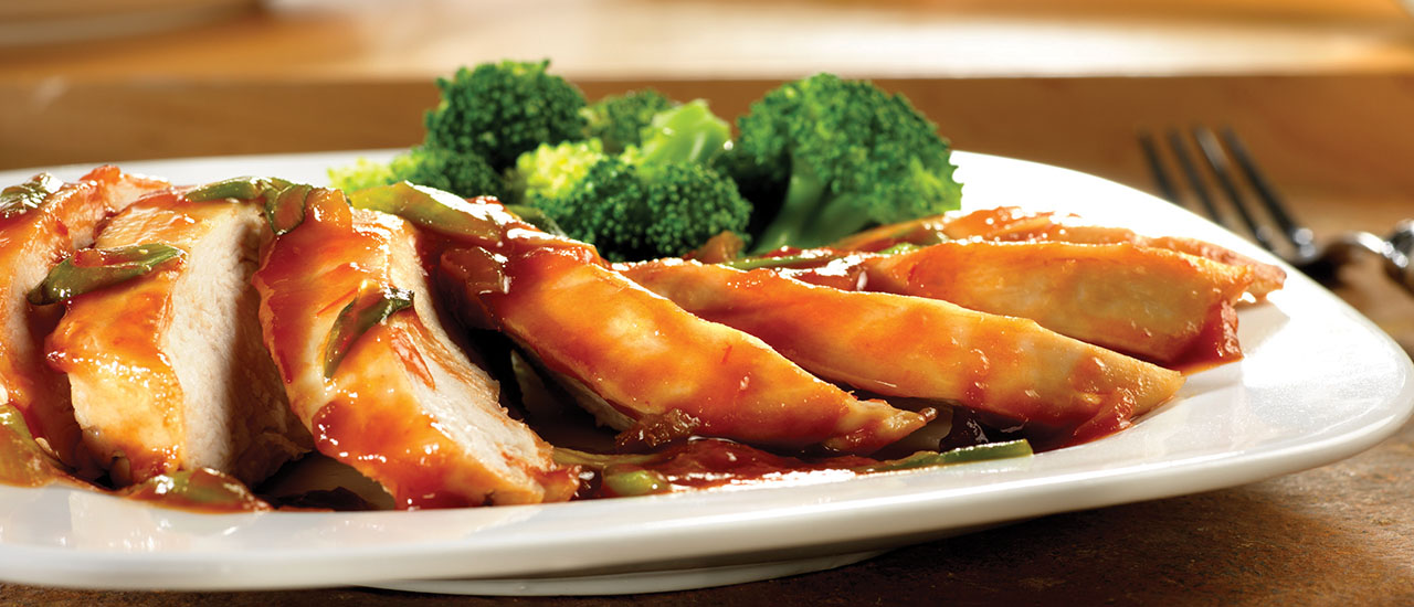 Maple Rum-Glazed Chicken