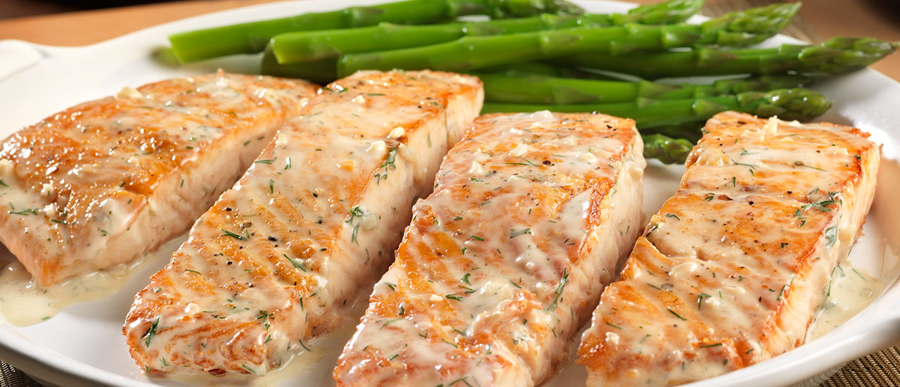Creamy Dill Salmon Recipes