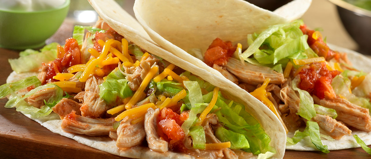 Slow-Cooked Taco Chicken