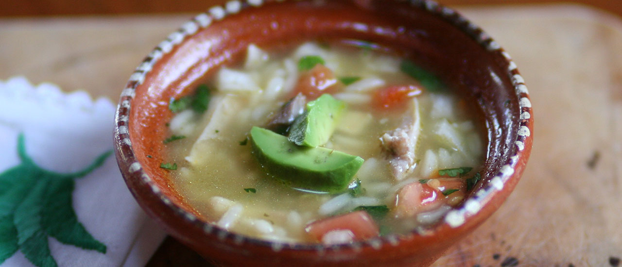 Easy Fresh Caldo de Pollo