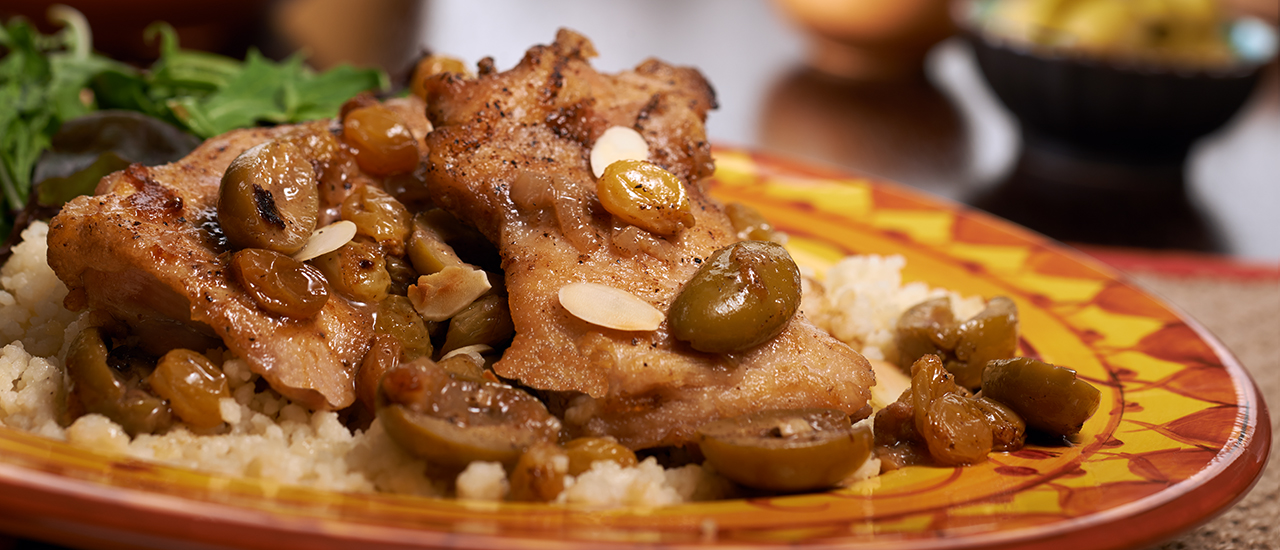 Moroccan Braised Chicken