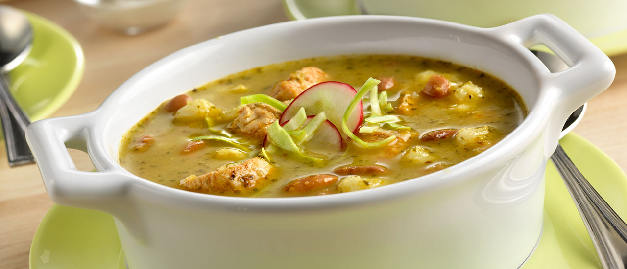 Chicken Pozole Soup