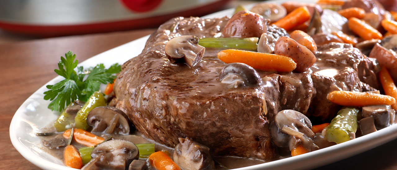 Ultimate Slow Cooker Pot Roast Campbell S Kitchen