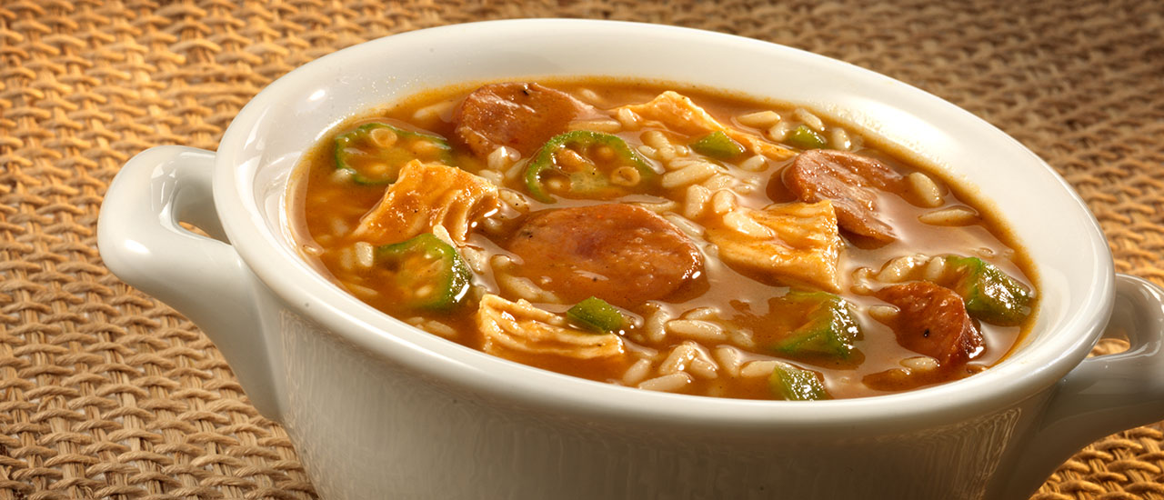 Gumbo with Andouille Sausage