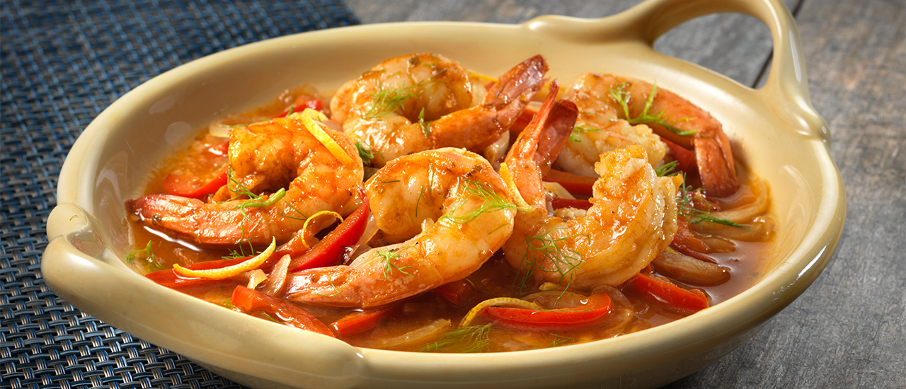 Braised Shrimp
