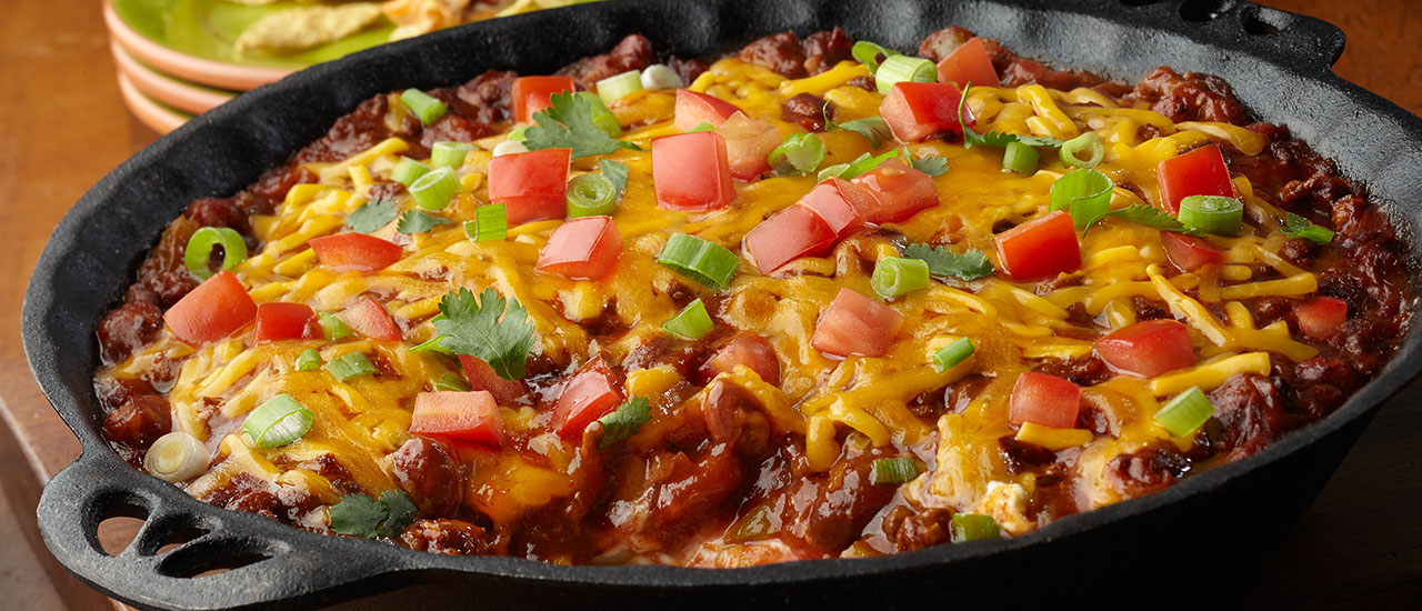Layered Chili Cheese Dip