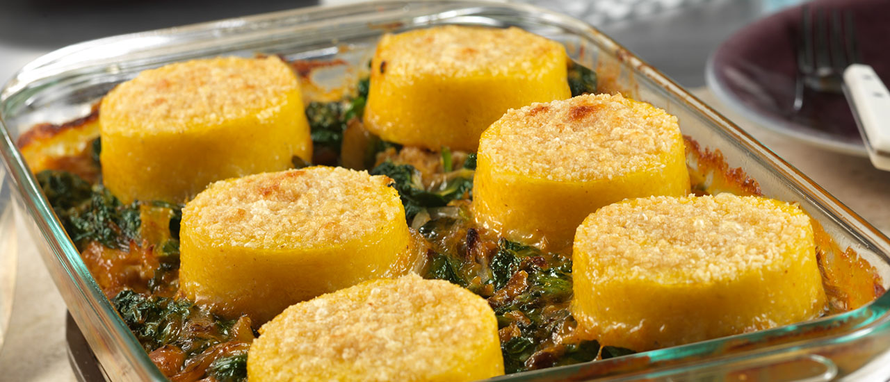 Polenta Turkey Bake