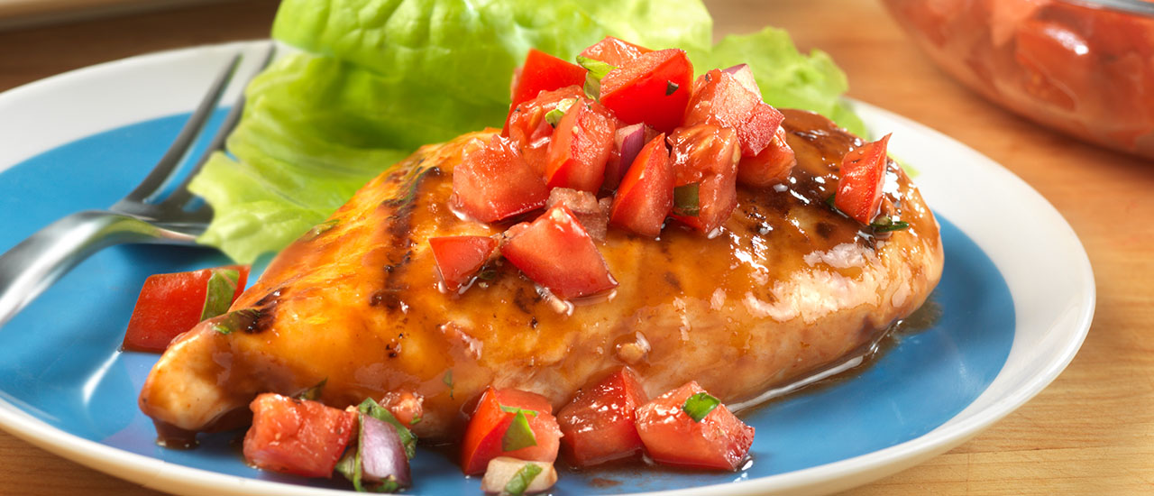 Grilled Bruschetta Chicken