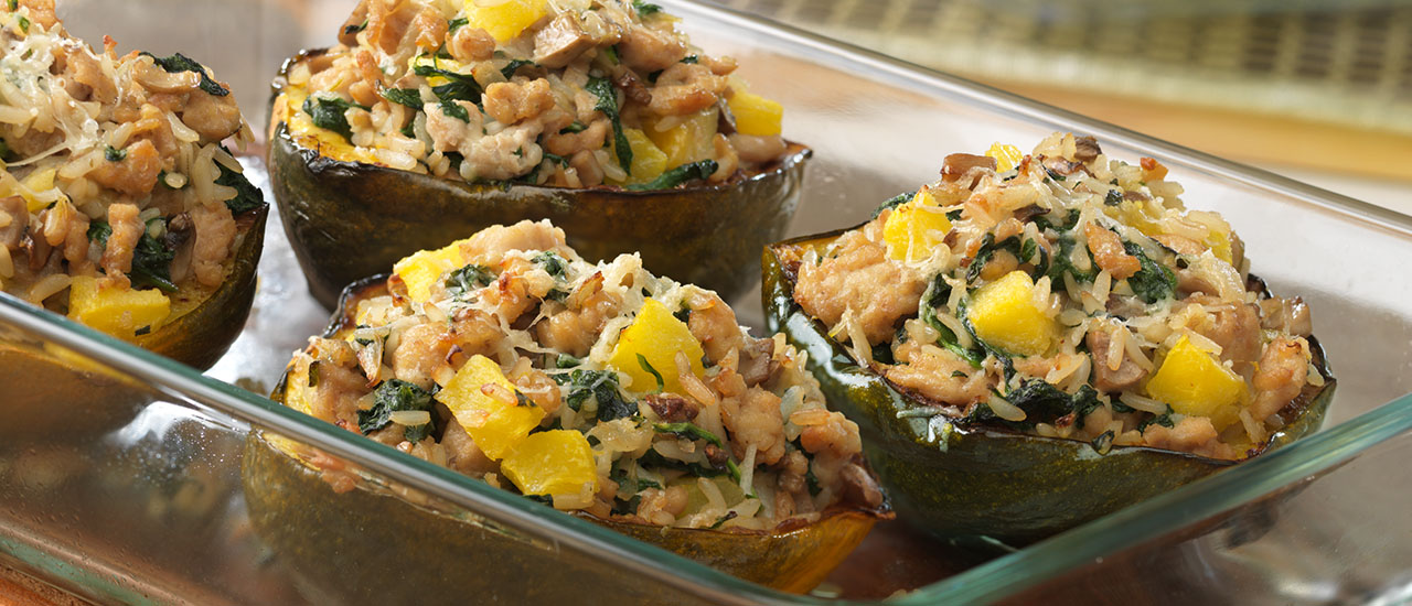 Signature Stuffed Squash