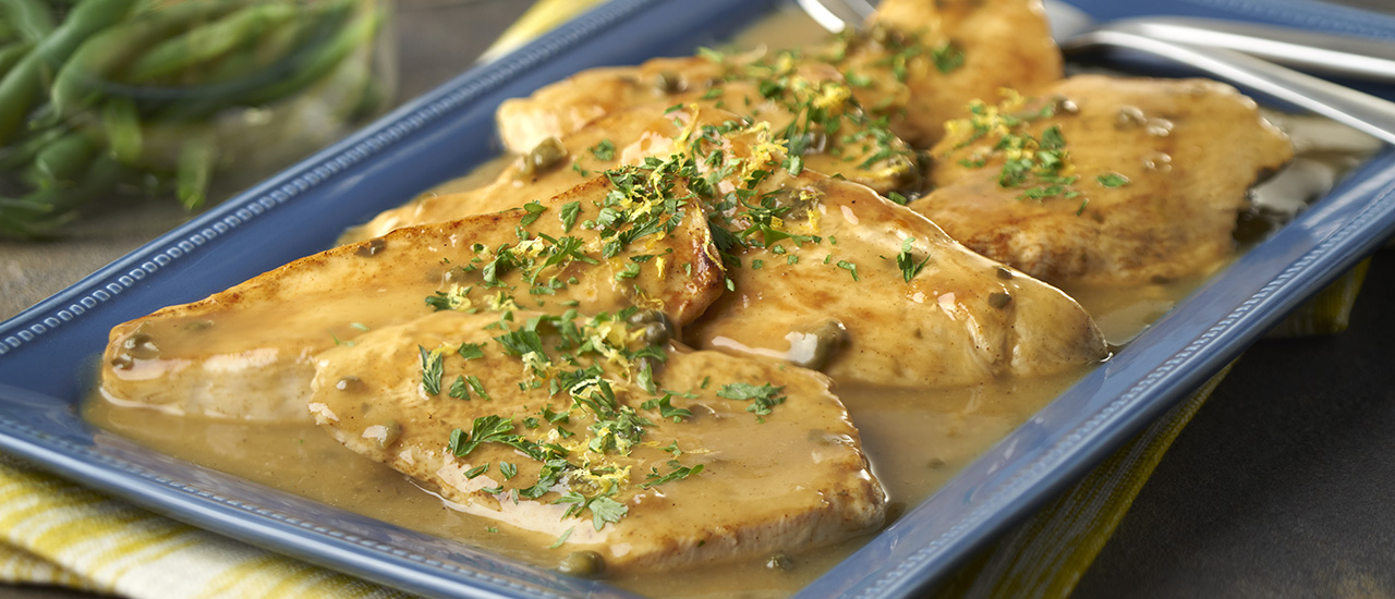 Piccata-Style Turkey Cutlets