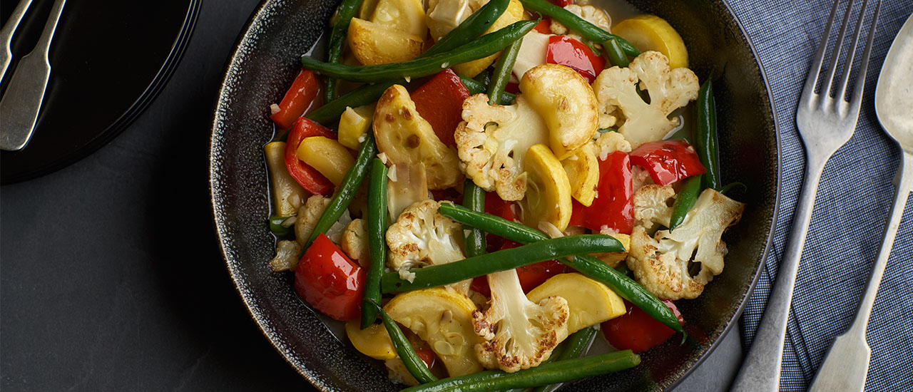Garlic Sautéed Vegetables