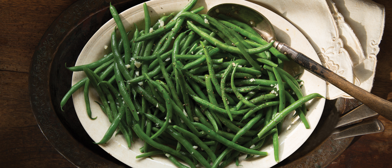 Garlic Sautéed Green Beans