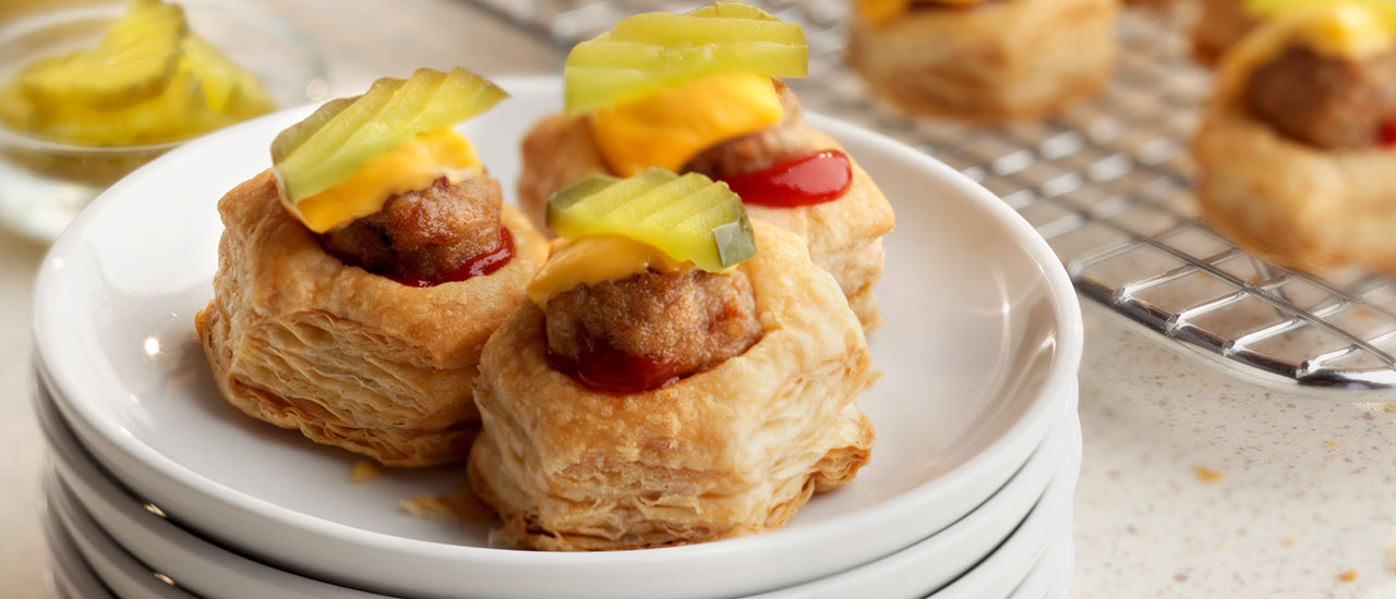 Mini Cheeseburger Cups