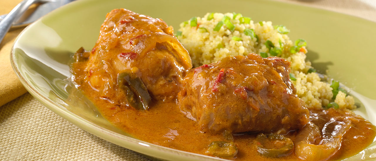 Slow Cooker Hawaiian-Style Chicken Thighs