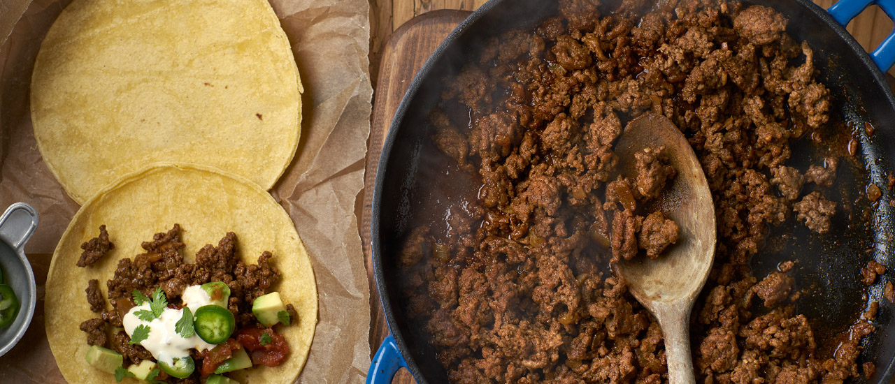 Restaurant-Style Beef Tacos