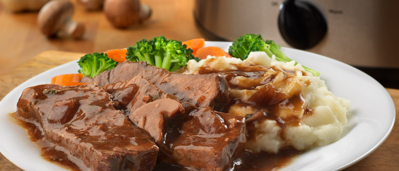 Campbell's® Slow Cooker Tavern Style Pot Roast