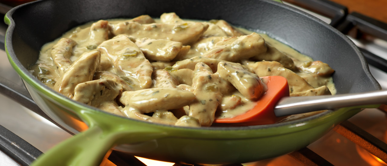 Skillet Thai Curry Chicken