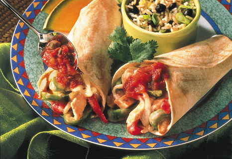 Campbell's Kitchen: Monterey Chicken Fajitas