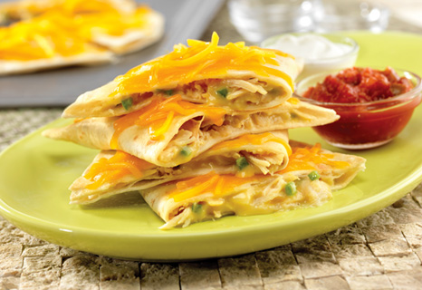 My Favorite Things Quick Amp Easy Creamy Chicken Quesadillas