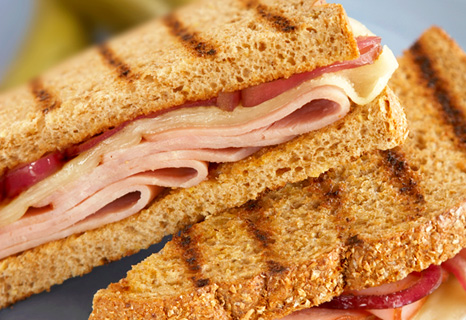 Image of Hearty Ham And Onion Melts, Campbells Kitchen