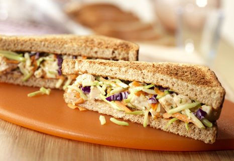 Image of Asian Chicken Salad Sandwiches, Campbells Kitchen