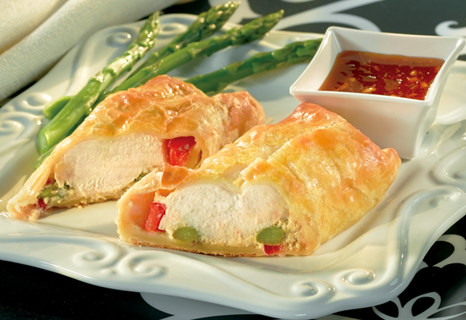 Image of Apricot Chicken En Croûte, Campbells Kitchen