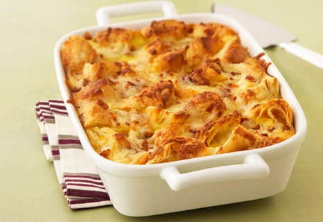 Image of Apple Cheddar breakfast Strata, Campbells Kitchen