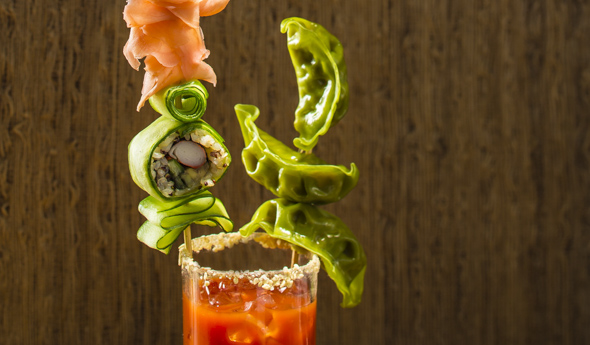 California Roll Bloody Mary