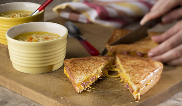 Cheese Dog Grilled Cheese